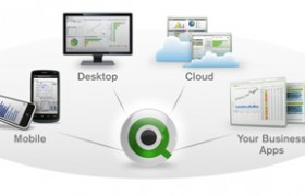 O QlikView no topo entre 'BI Giants'